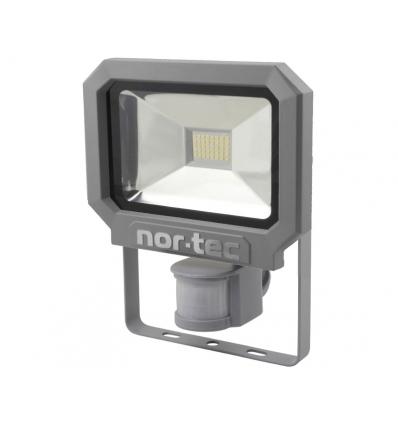Nortec arbejdslampe 230 volt - 20 watt m/sensor