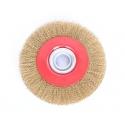 Stålbørste 200 mm til bænkslibere
