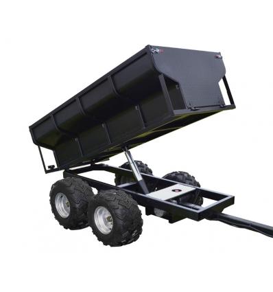 Skovvogn med hydraulisk tip