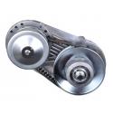 Vario kobling til go-kart (motor med 25 mm aksel)
