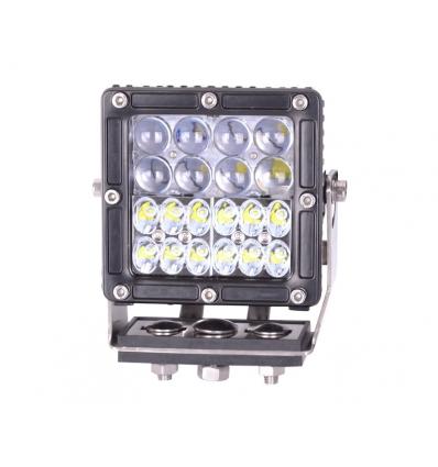 Projektør/kørelys LED 60 watt - firkantet