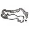 Slyngkobling til kædetræk 15 mm aksel - inkl. kæde og tandhjul