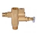 Gasregulator til benzin kompressor