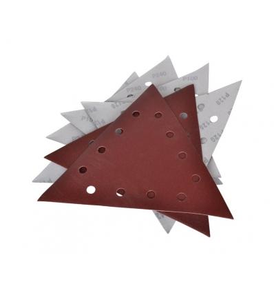 Sandpapir trekantet 28x28x28 cm til girafsliber