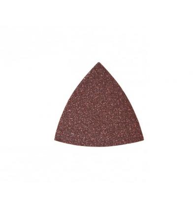 Trekantet sandpapir 80x80x80 mm - korn 80