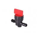 Benzinhane / Brændstofhane til Ø6,3 mm slanger