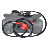 Dieseltank - ladtank - 100 liter - kompakt model