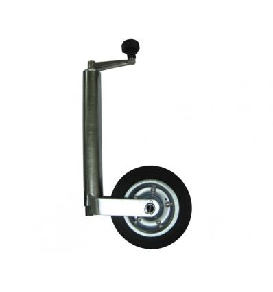 Næsehjul - fast gummihjul