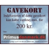 Gavekort 200 kr