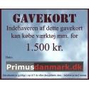 Gavekort 1.500 kr