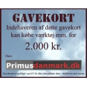 Gavekort 2.000 kr