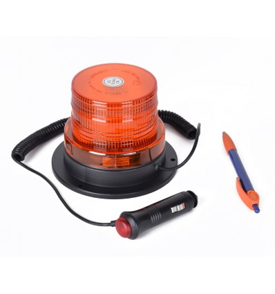 LED Advarselsblink Ø86 mm 12/24 volt