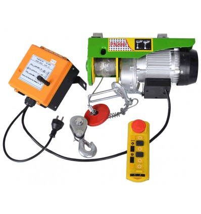 Trækspil 230 volt - 400/800 kg - trådløs fjernbetjening