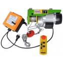 Trækspil 230 volt - 400/800 kg - trådløs fjernbetjening + nødstop