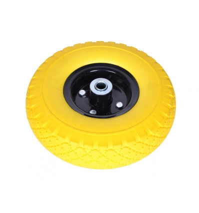 Punkterfri hjul til sækkevogn (260x85) - 16 mm aksel