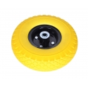 Punkterfri hjul til sækkevogn (260x85) - 20 mm aksel