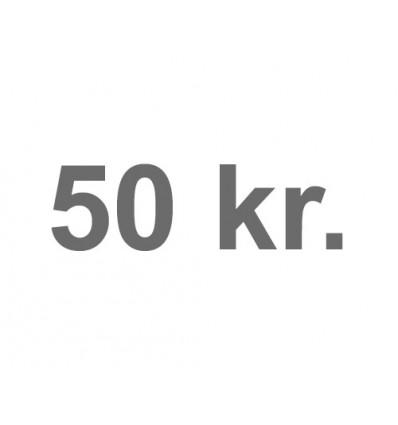 50 kr. marked