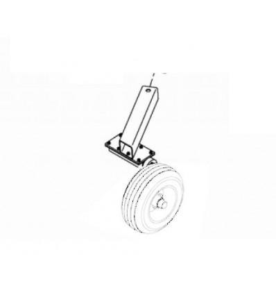 Hjulophæng til minigraver 48102 - højre side